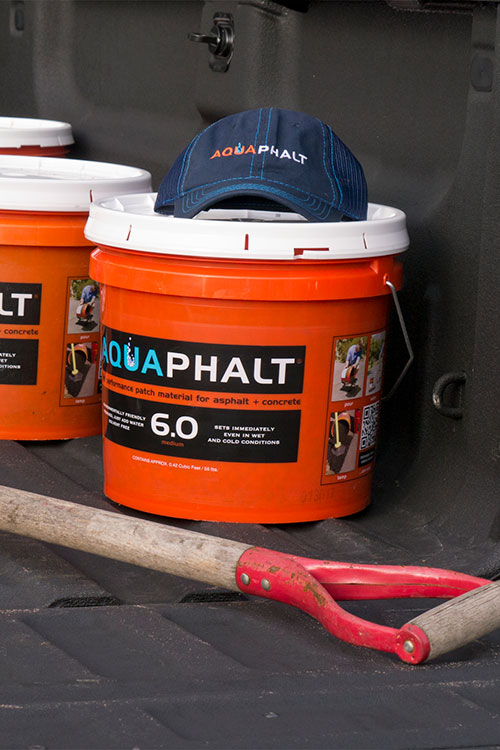 Aquaphalt do it yourself pothole repair diy driveway repair in the news solutioingenieria Gallery